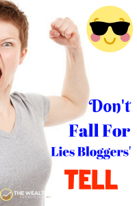 Bloggers want to share knowledge they've gleaned from the world around them. Their misconceptions can cost your health, family, safety and wealth. Don't fall for lies bloggers' tell. #health #family #safety #advice #diet #exercise #wealth #money
