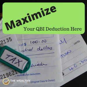 The qualified business income deduction is complicated. Guarantee you get the maximum value for your tax deduction. Tax planning can save more than ever. Maximize your QBI deduction here. #QBI #qualifiedbusinessincomededuction #tax #taxes #taxdeductions #business #businessdeductions