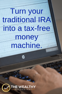 Take a once-in-a-lifetime distribution tax-free from your traditional IRA. Maximize your tax savings.