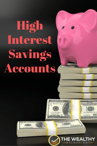 Interest rates continue at historically low levels. These savings accounts offer high returns with low or no risk. #interest #bank #rates #savings #moneymarket #savingsrate #interestrate #earnings