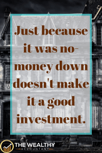 No-money down real estate is rarely a good deal. Usually you are buying something with lots of problems that is hard to sell. These steps can point out the ones that are really a bargain. #realestate #investing #nomoneydown #investment #goodinvestments
