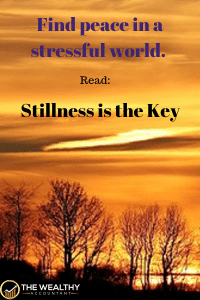 Find peace and quiet in a stressful world. #stress #peace #quiet #stillness #success #stressedout #stressed #stress