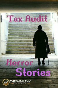 Tax audit horror stories. Don't be afraid of the dark; be afraid of the IRS letter. #Halloween #audit #taxaudit #horror #horrorstories